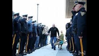 「感動 実話」152人を逮捕した英雄警察犬の最期…警察官達に敬礼され安楽死させられる病院へ「犬・猫動物大好きチャンネル」