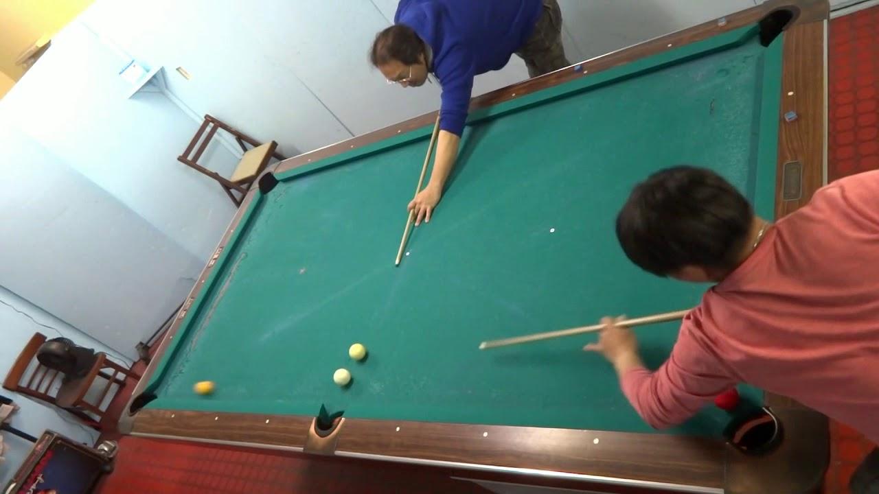 神業コンビネーションNo263スローモーション.トリックショット.MMMBrothers.Trickshot: Artistic Pool Trick Shots