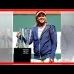 最新ニュース| 大坂の爆笑スピーチを世界が称賛!本人は「史上最悪」/テニス