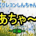 【クレヨンしんちゃん】 ~かあちゃ~ん~ 【泣ける話】前編
