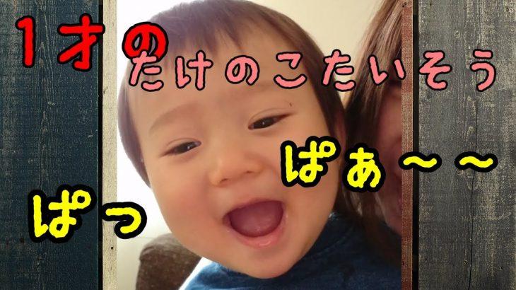 1歳児の歌唱力! 驚きの吸収力!