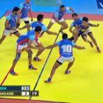 カバディの発祥国インドが魅せた準決勝での神業フ#hot6