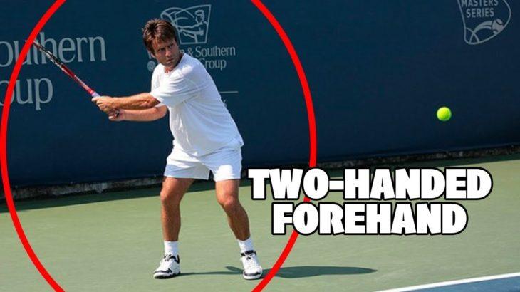 【テニス】常識をぶち破った両手フォアハンド…!?【神業】Fabrice Santoro Best Points