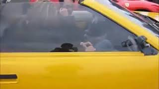 ゚д゚ンマッ!!!! 爆笑偽フェラーリをドヤ顔で乗って本物の横に止めた結果 F3