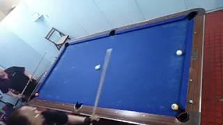神業コンビネーションNo287.トリックショット.ビリヤード曲球.MMMBrothers.Trickshot: Artistic Pool Trick Shots