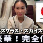 【JAL】ビジネスクラスのスカイスイートに感動!ハノイから成田 搭乗レビュー